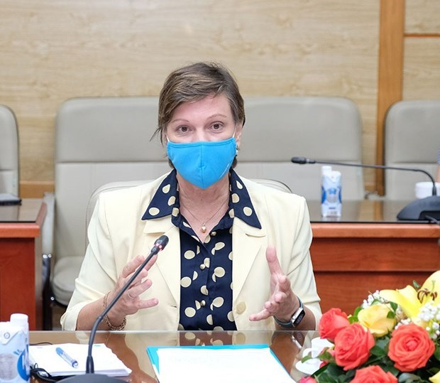 UNICEF commits support for Vietnam's rapid access to Covid-19 vaccines hinh anh 2