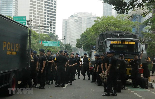 Indonesia issues security alert in Jakarta hinh anh 1