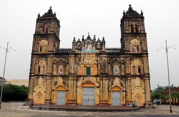 Bui Chu church restoration: safety first hinh anh 3
