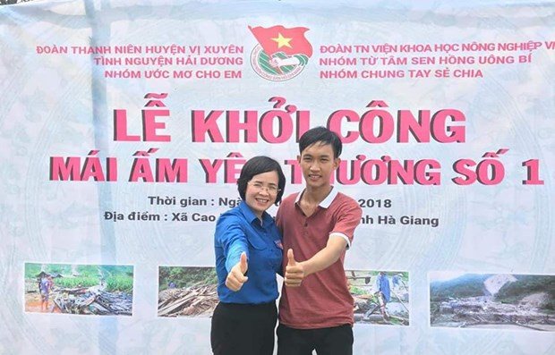 Young leader fosters volunteer connections, new hopes hinh anh 1