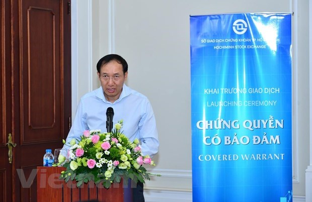 Covered warrants to be traded in Vietnam for first time hinh anh 1