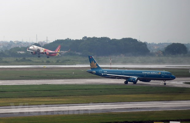 Aviation sector falls from peak to bleak season due to COVID-19 pandemic hinh anh 2