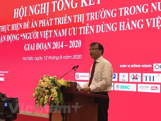 Domestic market helps firms overcome crisis amidst pandemic: Minister hinh anh 1