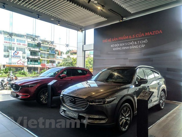 Auto market bounces back on registration fee cut hinh anh 1