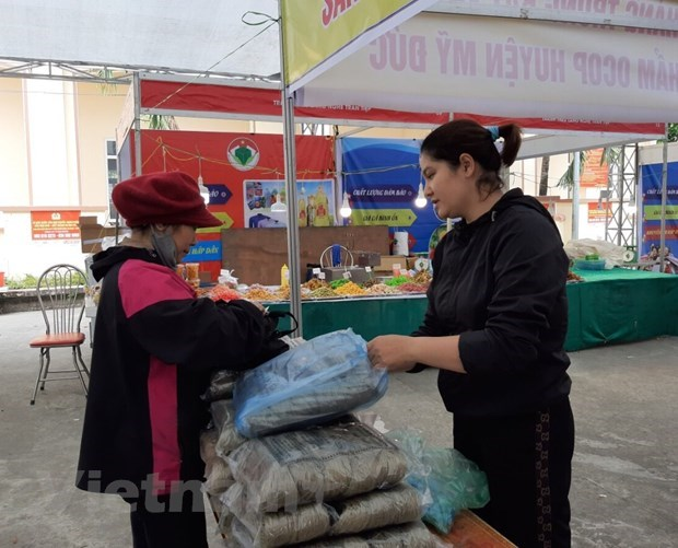Hanoi brings Tet commodities to rural areas hinh anh 2