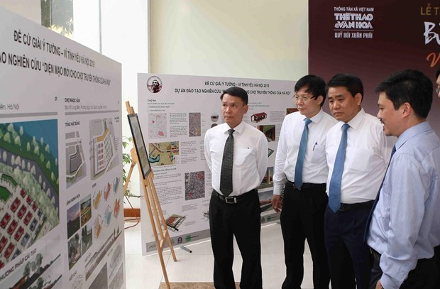Bui Xuan Phai Awards: Idea to clean up To Lich River honoured hinh anh 3