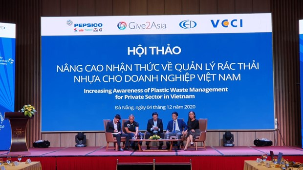 Workshop seeks way to raise SMEs' awareness in plastic waste management hinh anh 2