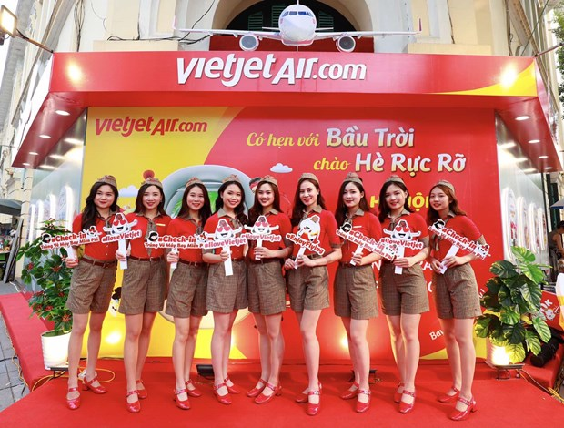 Vietjet offers promotional tickets celebrating April 30 - May 1 hinh anh 3