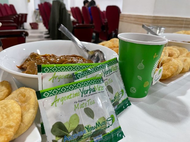 Argentina's yerba mate herbal tea now available in Vietnam hinh anh 2