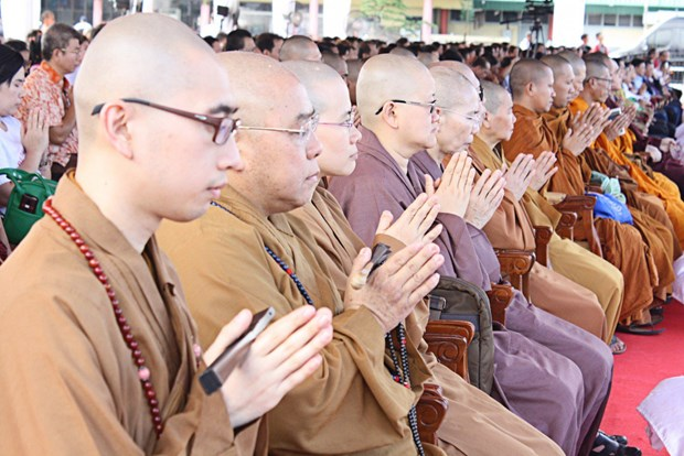 Buddhists pray for peace, tolerance in Indonesia hinh anh 1