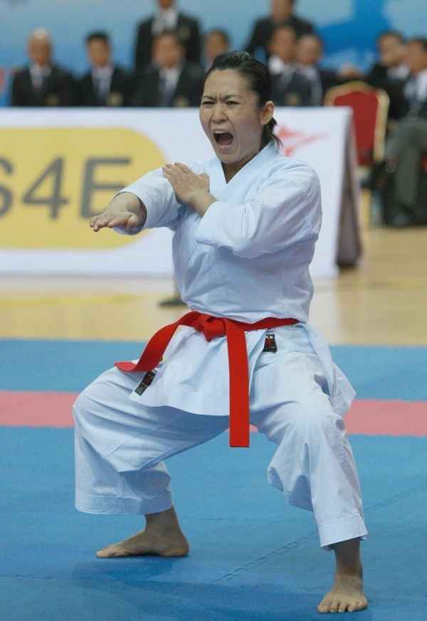Vietnam's kata queen named WKF commission member hinh anh 1