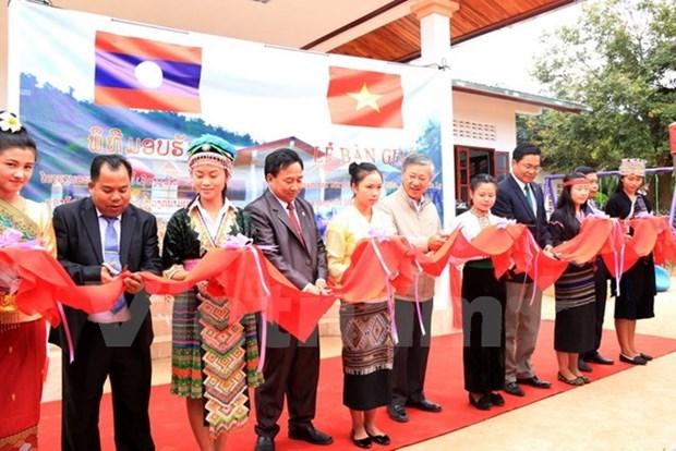 Meeting marks Lao National Day in Thai Nguyen hinh anh 1