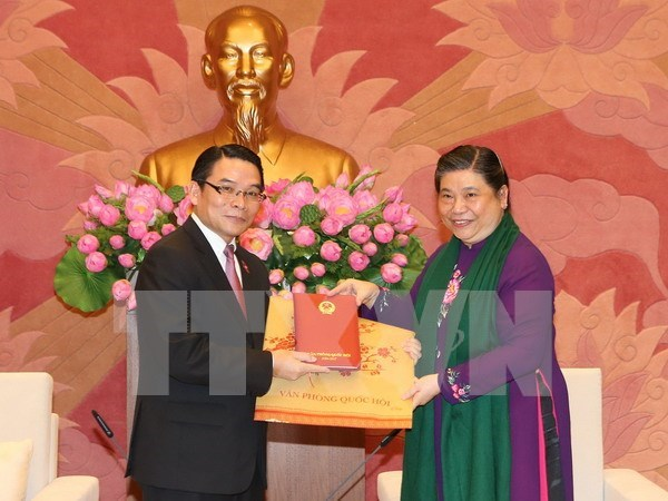 Friendship groups asked to promote Vietnam-Laos ties hinh anh 1
