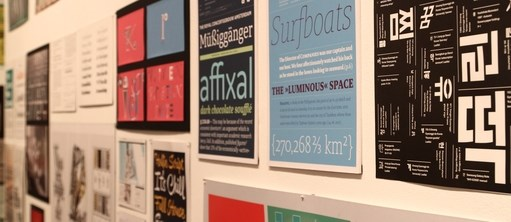 Goethe Institute hosts int'l typography exhibition hinh anh 1