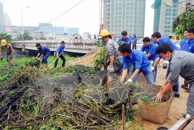 Hanoi Protestants contribute to environmental protection hinh anh 1