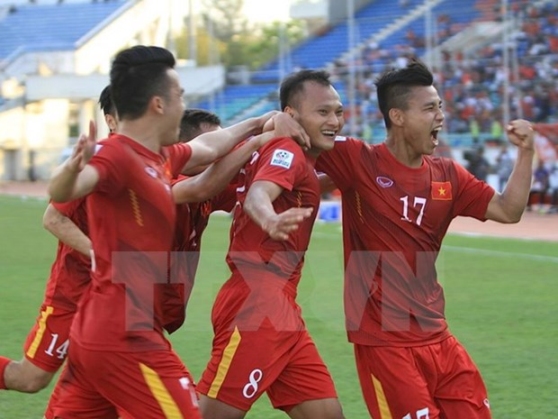 Vietnam up in FIFA rankings hinh anh 1