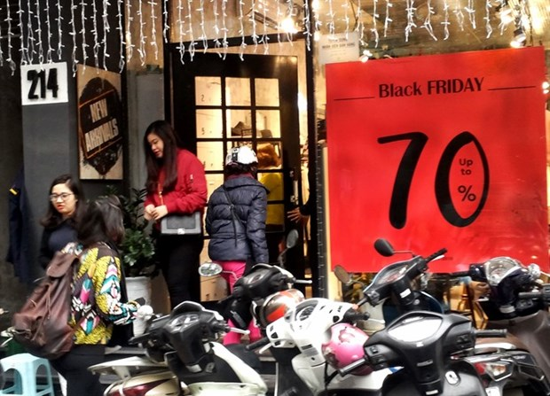 US-style Black Friday a hit in Vietnam hinh anh 1