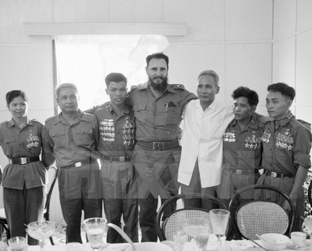Fidel Castro – Great friend of Vietnam hinh anh 1