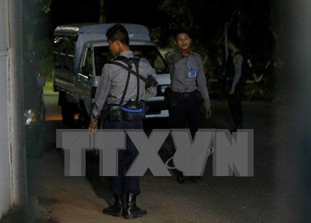Myanmar arrests three suspects in Yangon explosions hinh anh 1