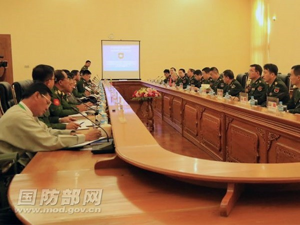 Myanmar, China discuss border issue hinh anh 1