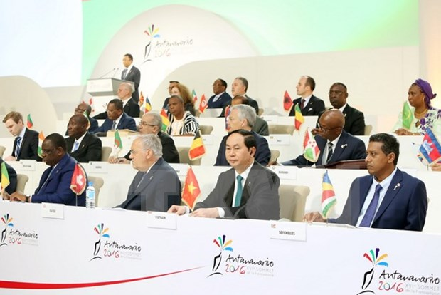 Francophone Summit wraps up hinh anh 1