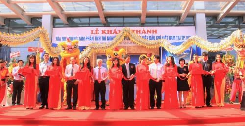 PVN inaugurates analysis laboratory centre hinh anh 1