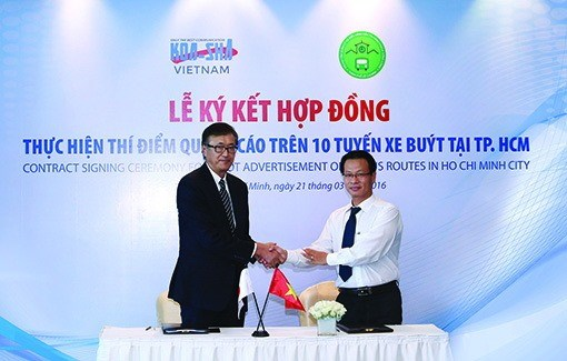 Ho Chi Minh City plans expansion of bus ads hinh anh 1