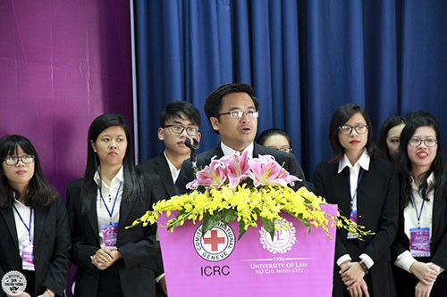 IHL Moot Competition 2016 opens in HCM City hinh anh 1