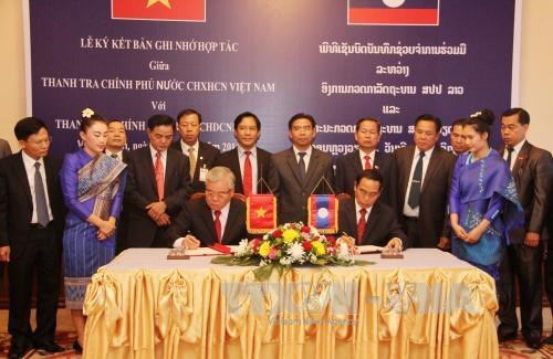 Vietnam, Laos boost cooperation in inspection work hinh anh 1