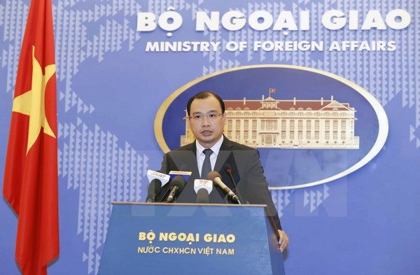 Vietnam opposes Taiwan's drill in Truong Sa archipelago hinh anh 1