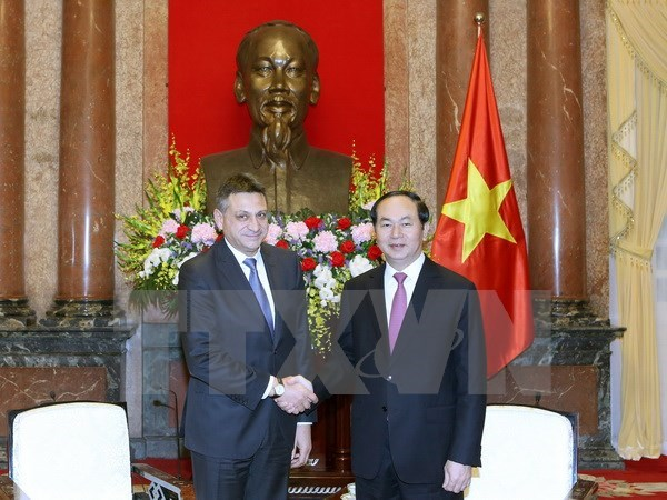 President hails security cooperation as pillar in VN-Bulgaria ties hinh anh 1