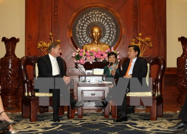 HCM City, German city boost affiliations hinh anh 1