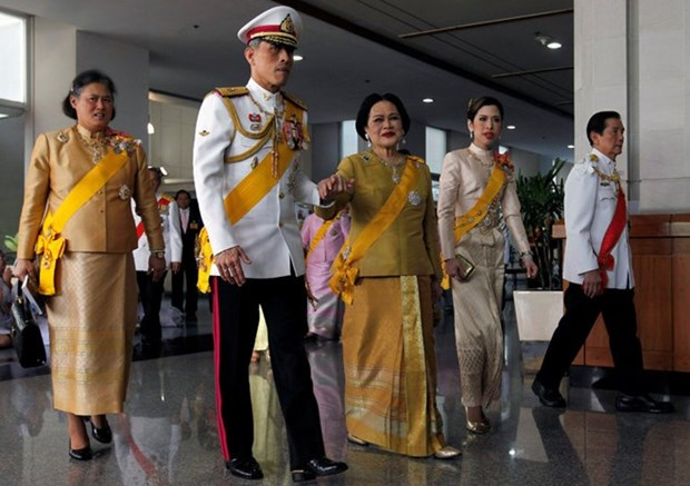 Thailand's Crown Prince acknowledged as new king hinh anh 1