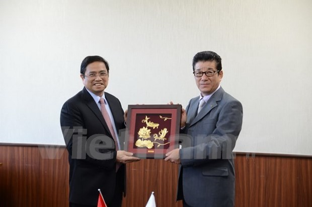 Osaka called to further cooperation with Vietnam hinh anh 1