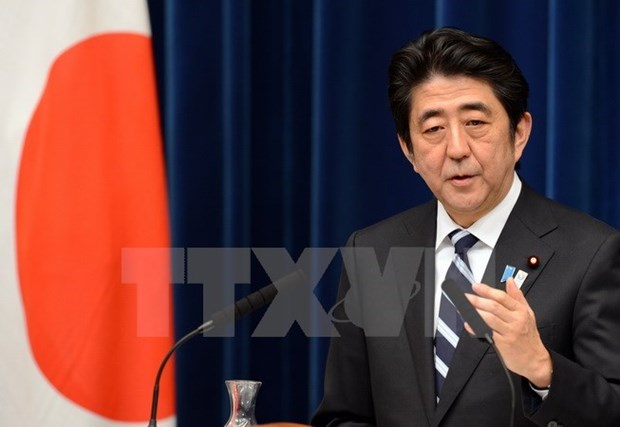PM Abe wants closer ties between Japanese, Vietnamese parties hinh anh 1