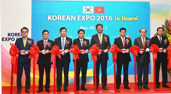 Korea Expo underway in Hanoi hinh anh 1