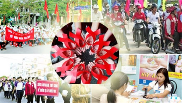 Activities for HIV/AIDS action month hinh anh 1