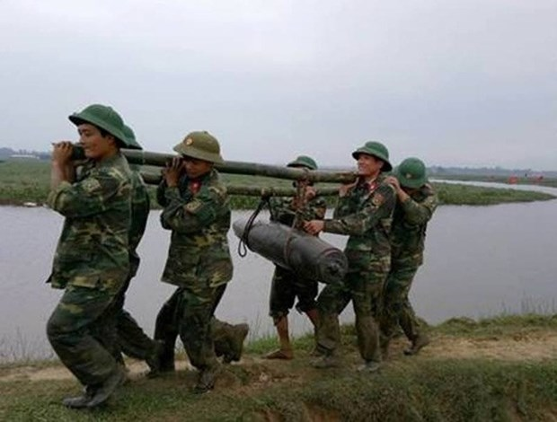 230kg bomb recovered from Ha Tinh River hinh anh 1