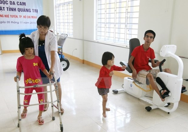 Ceremony marks Int'l Day of Persons with Disabilities hinh anh 1