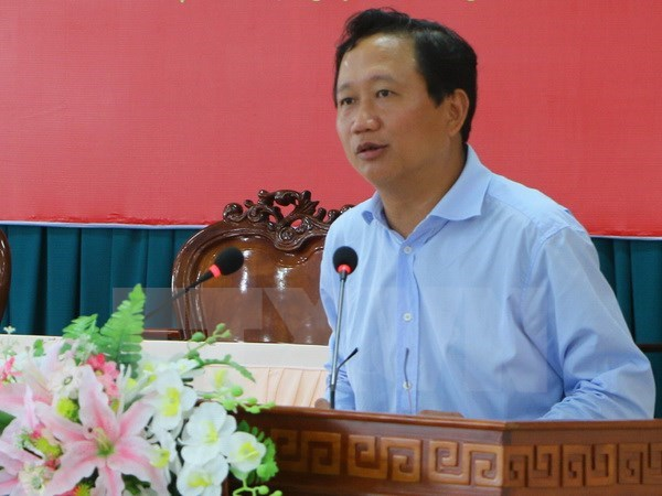 Disciplines related to Trinh Xuan Thanh decided hinh anh 1