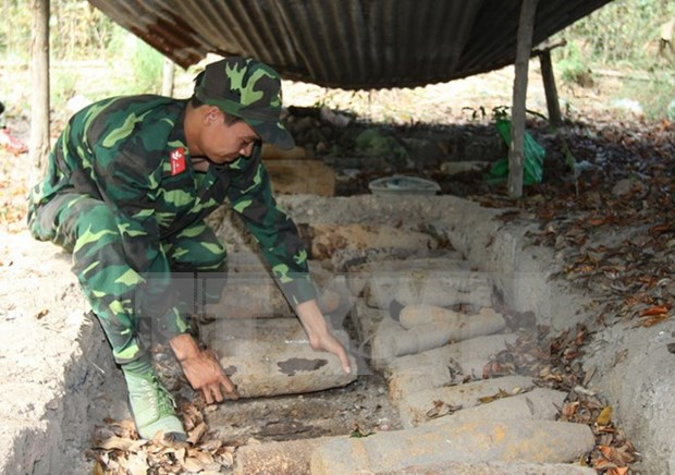 Danish NGO funds UXO clearance in Quang Nam province hinh anh 1