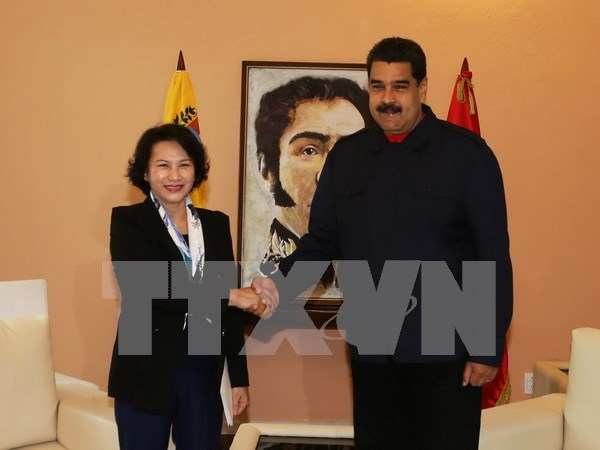 NA leader affirms boosting ties with Venezuela hinh anh 1