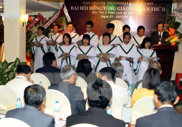 Vietnam Mennonite Church convenes third general conference hinh anh 1