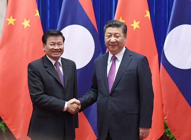 China bolsters partnership with Laos hinh anh 1
