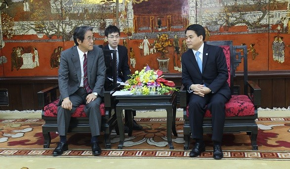 Hanoi wants to foster cooperation with Japan hinh anh 1