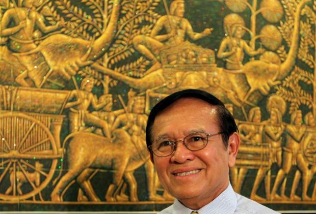 Cambodian King pardons opposition leader hinh anh 1