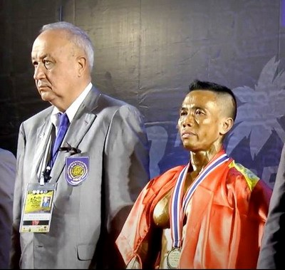 Bodybuilders win world champs gold in Thailand hinh anh 1