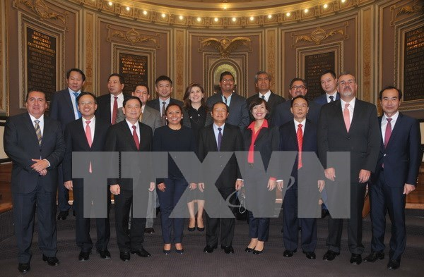 Vietnamese, Mexican legislatures boost cooperation hinh anh 1