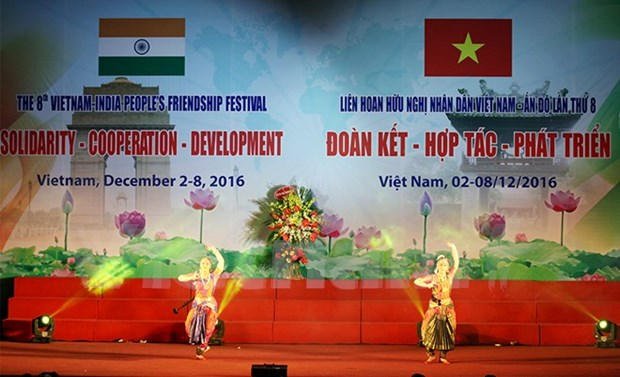 Vietnam-India people's friendship festival opens in Hanoi hinh anh 1