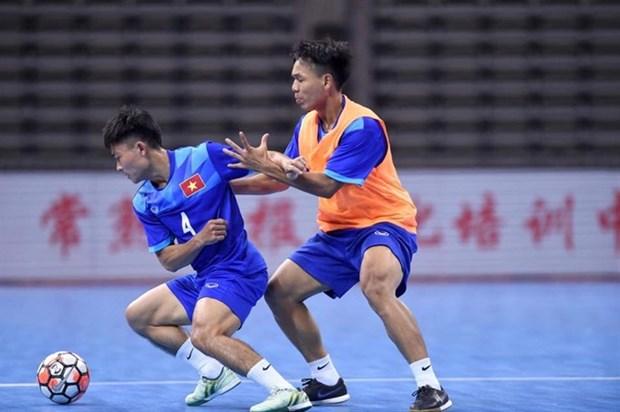 Vietnam lose first match at international futsal friendly hinh anh 1